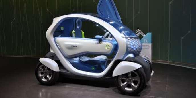 Le constructeur automobile français Renault a vu son chiffre d'affaires diminuer de 8,6 % à 9,54 milliards d'euros au premier trimestre - ici, la
