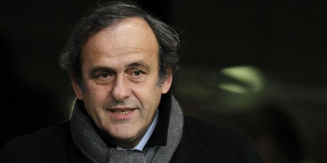 Michel Platini, le 30 novembre 2012 à Rennes.