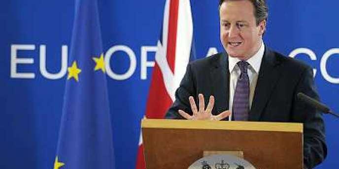David Cameron, le jeudi 8 décembre à Bruxelles.