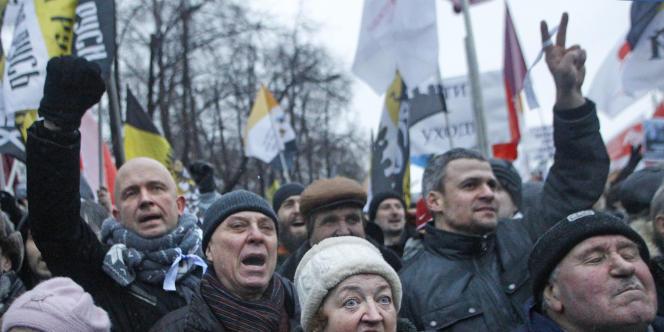 La précédente manifestation du 10 décembre avait attiré entre 50 000 et 80 000 personnes.