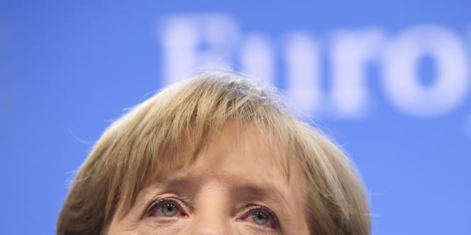 Angela Merkel à Bruxelles, le 9 décembre 2011.