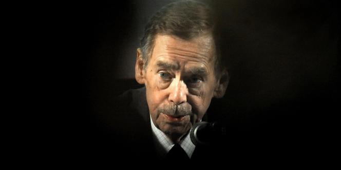 Vaclav Havel, en mars 2011 à Prague.