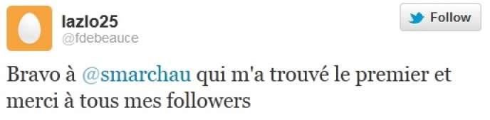 François Fillon a reconnu le 11 décembre s'être inscrit sur Twitter sous le pseudonyme