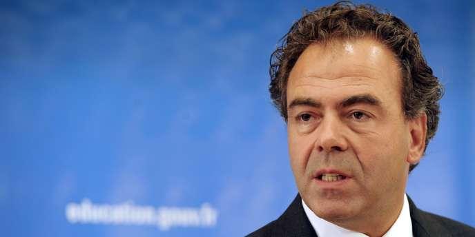 Luc Chatel, le ministre de l'éducation, le 1er septembre 2011 à Paris.