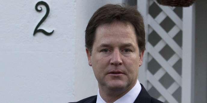 Nick Clegg, vice-premier ministre, le 12 décembre à Londres.