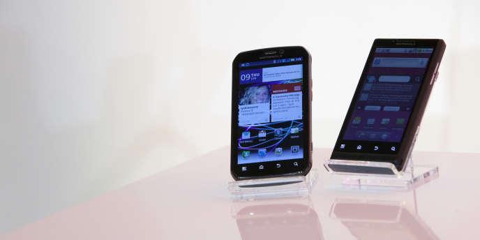 Des terminaux de la marque Motorola.