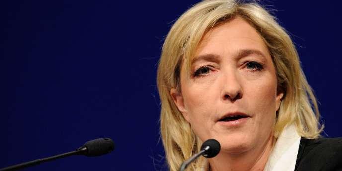 La présidente du Front nationale, Marine Le Pen, en 2011.