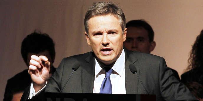 Nicolas Dupont-Aignan, candidat de Debout la République