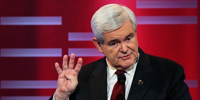 Newt Gingrich, ancien président de la chambre des représentants.