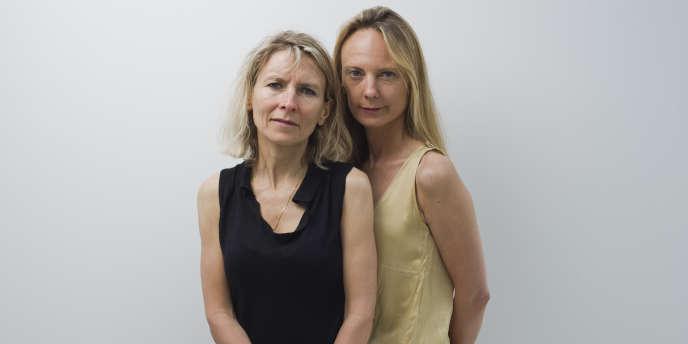 Les réalisatrices Muriel et Delphine Coulin lors du 64e Festival du film de Cannes, le 15 mai 2011.