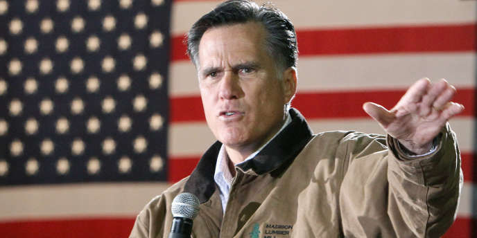 Le candidat à l'investiture républicaine Mitt Romney.