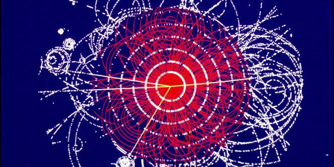Simulation du boson de Higgs au CERN.