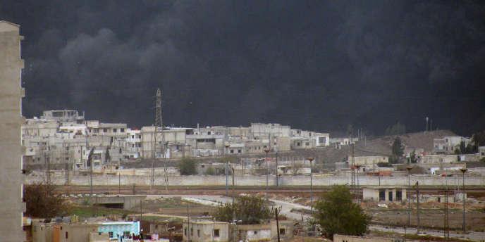 Le 8 décembre, une explosion a eu lieu sur un oléoduc à l'ouest de Homs. Sana avait accusé