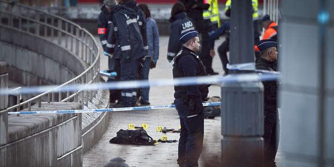Un homme a abattu quatre personnes mardi 13 décembre 2011 à Liège, avant de retourner son arme contre lui.