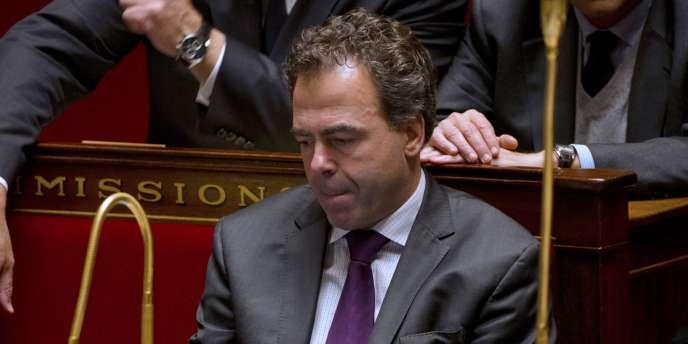 Le ministre de l'éducation, Luc Chatel, à l'Assemblée nationale à Paris, le 15 novembre 2011.