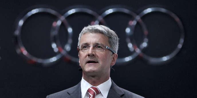 Rupert Städler, le directeur du groupe Audi, le 13 septembre 2011