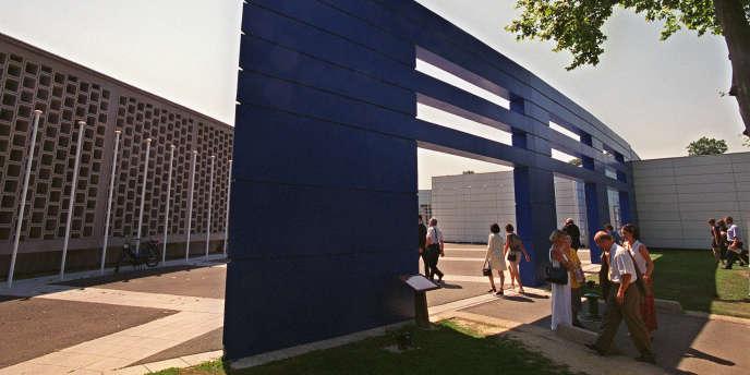 Le campus de l'école des Hautes études commerciales (HEC), à Jouy-en-Josas, près de Paris.