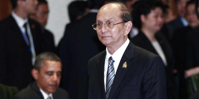Le président birman Thein Sein, en novembre 2011.
