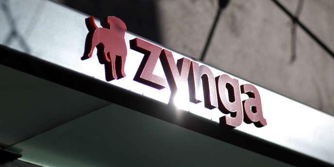 Le logo de l'entreprise Zynga.