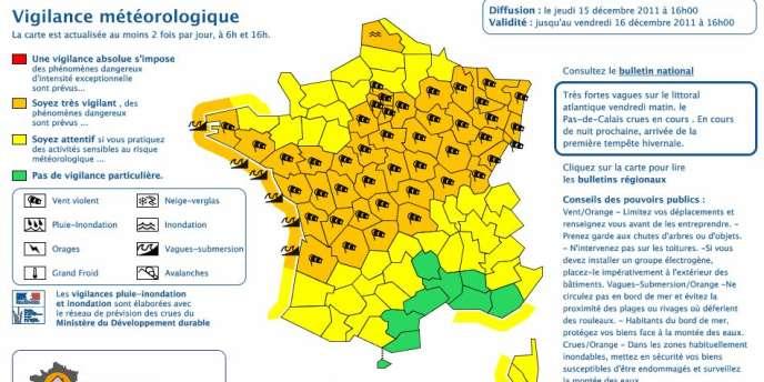 Météo France redoute l'arrivée de la première tempête hivernale, qui doit traverser la France dans la nuit de jeudi à vendredi.