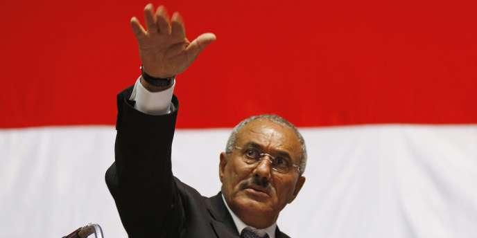 Le président yéménite, Ali Abdallah Saleh, le 20 février 2011.