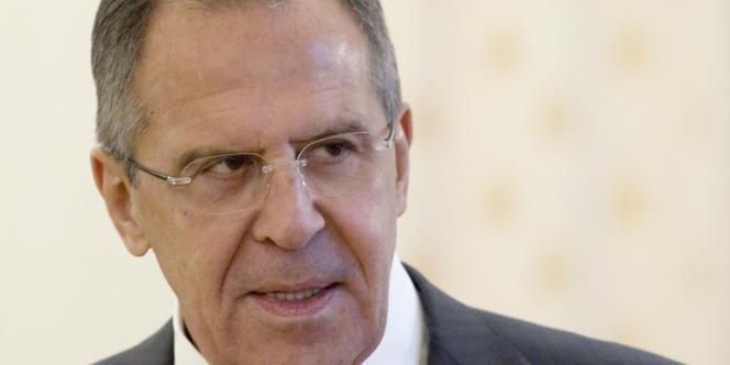 e chef de la diplomatie russe, Sergueï Lavrov, avait été le premier à évoquer un règlement de la crise syrienne