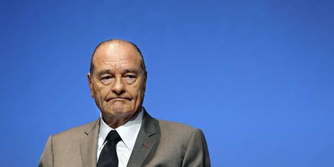 Jacques Chirac, le 5 novembre 2010.
