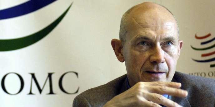 Pascal Lamy, directeur général de l'OMC.