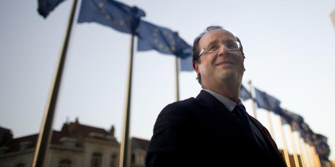 François Hollande, à Bruxelles, le 30 novembre.
