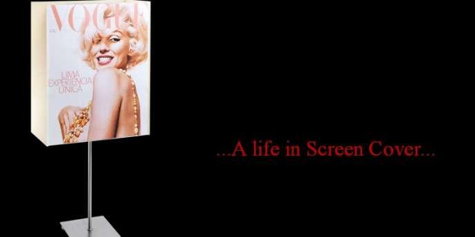 Luminaire Icon62, créé par Eric Salone, à l'effigie de Marilyn Monroe.