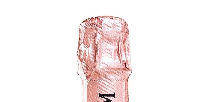 La Sculptural Box pour Mumm Brut Rosé, 34 €.