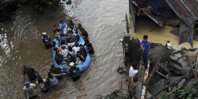 A Cagayan de Oro, le 17 décembre.