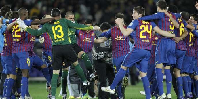 Le FC Barcelone champion du monde des clubs après sa victoire sur Santos.