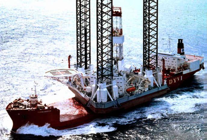 La plateforme pétrolière