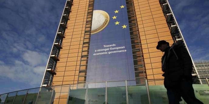 Le siège de la Commission européenne, situé à Bruxelles.