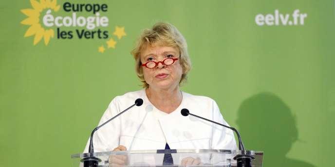 Eva Joly, le 17 décembre 2011, à Paris.