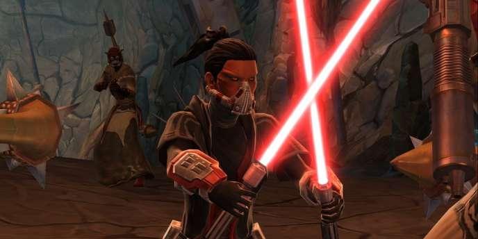 Une séquence du jeu en ligne