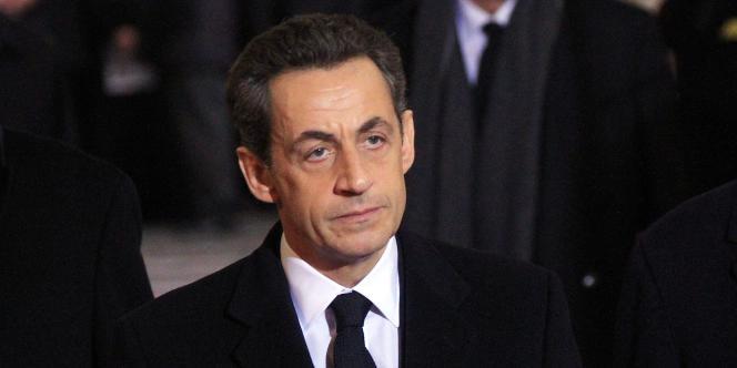 Nicolas Sarkozy, le 23 décembre 2011 à Prague.
