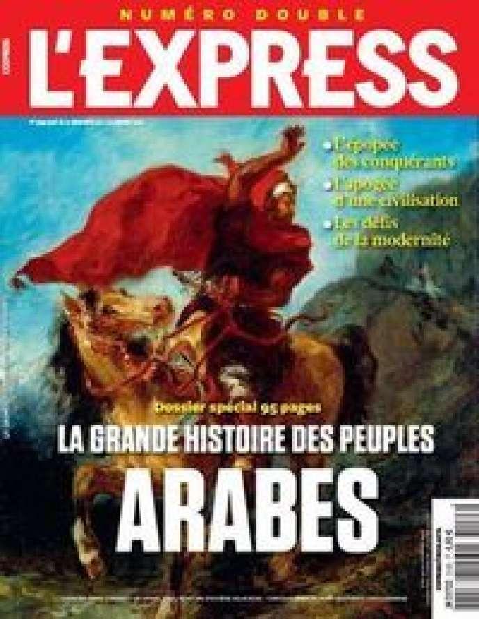 La Une de L'Express censurée au Maroc.