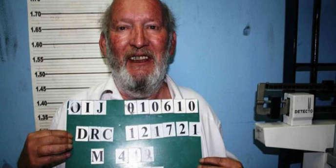 Photo non datée de Jean-Claude Mas, diffusée par Interpol en décembre, alors qu'il était recherché par le Costa Rica pour des soupçons de conduite en état d'ivresse.