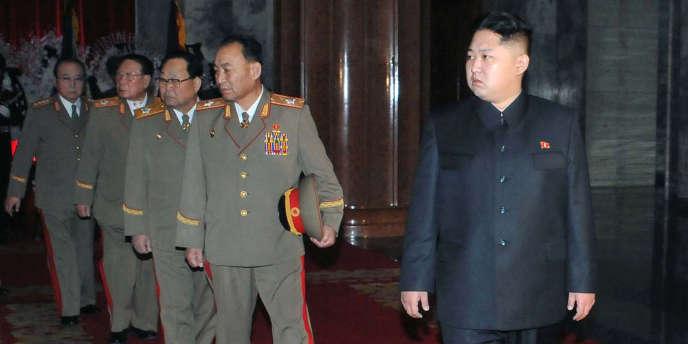 Kim Jon-un, le 24 décembre à Pyongyang.