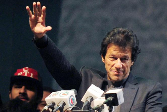 Imran Khan, le 25 décembre 2011 à Karachi.