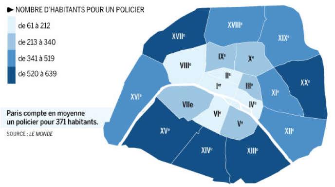 Les arrondissements populaires moins bien dotés.