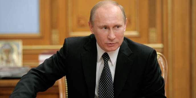 Vladimir Poutine, alors premier ministre, avait été la cible d'un attentat avorté, début 2012, selon Moscou.