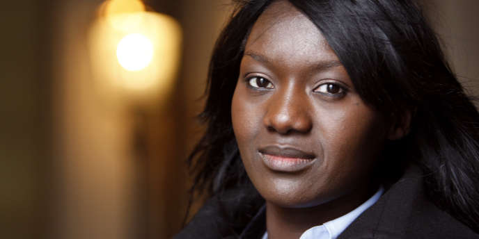 Seybah Dagoma, tête de liste socialiste dans la 5e circonscription de Paris.