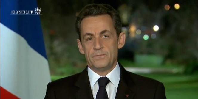 Nicolas Sarkozy en décembre 2011.