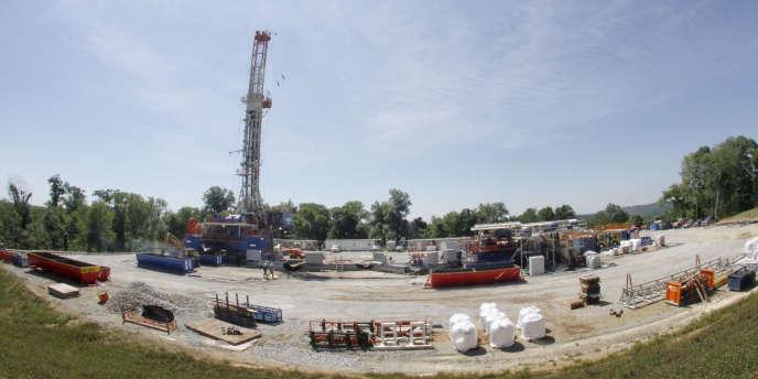 Exploitation du gaz de schiste aux Etats-Unis
