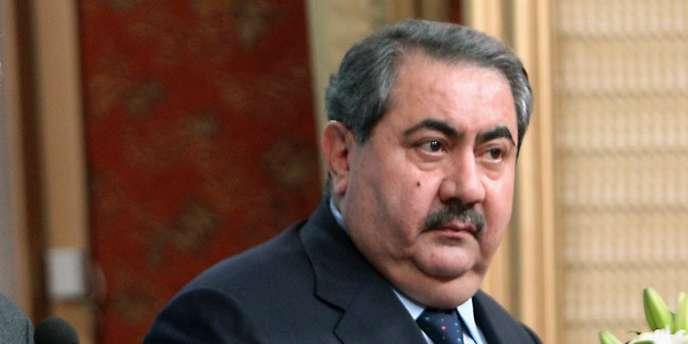Le ministre irakien des affaires étrangères, Hoshyar Zebari, en décembre 2011, à Bagdad.