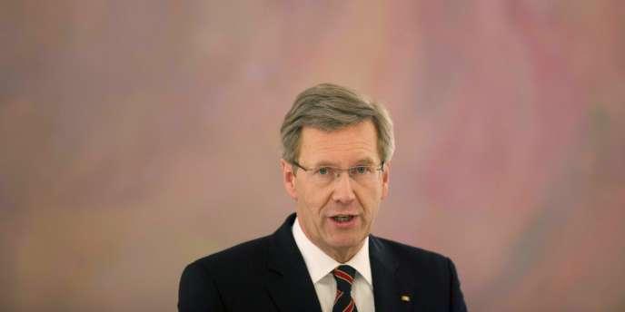 L'ancien président Christian Wulff, à Berlin, en décembre 2011.