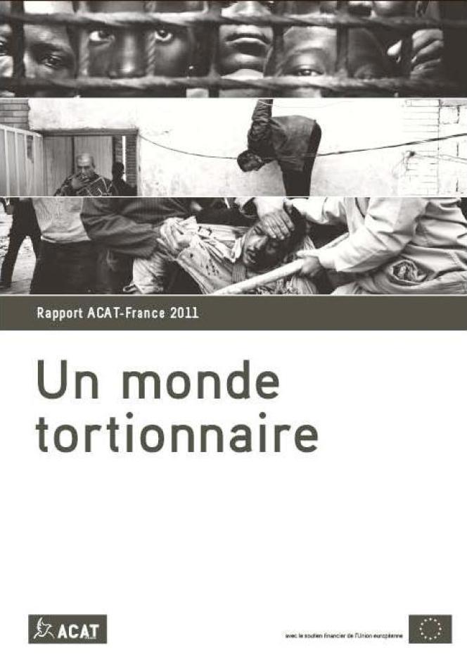 Couverture du rapport ACAT-France 2011,